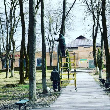 Завершена модернизация уличного освещения по энергосервисному контракту в Краснинском городском поселении Смоленской области