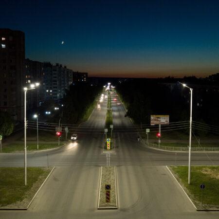 Модернизация системы уличного освещения