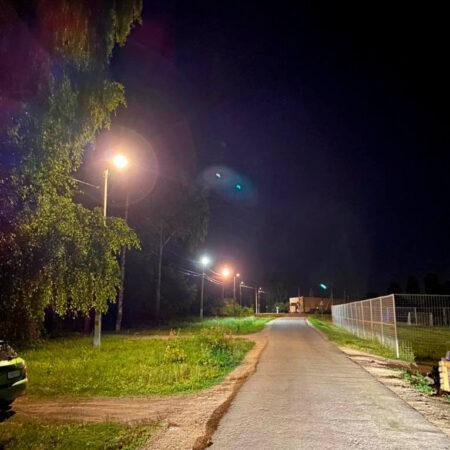 Завершение проекта модернизации уличного освещения населенных пунктов Липецкой области